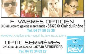 F.VABRES OPTICIEN