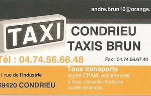 TAXIS BRUN
